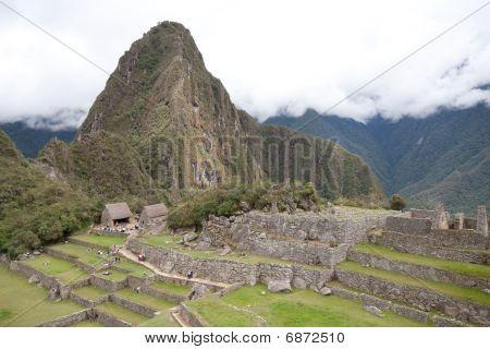 Wayna Picchu And Inca Ruins