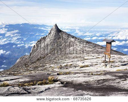 Mount Kinabalu In Sabah, Malaysia