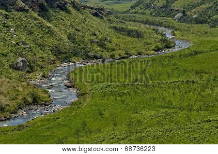 The Bushmans River in Giants Castle