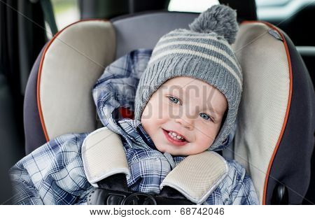 Portrait Happy Toddler  Boy