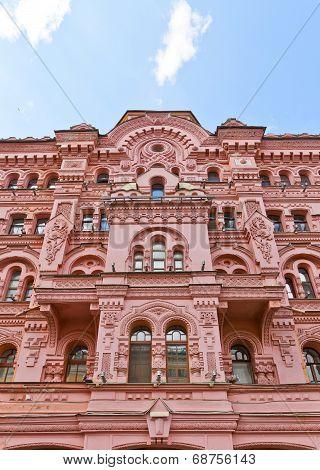 Apartment House Of N. Basin (1879) In Saint Petersburg