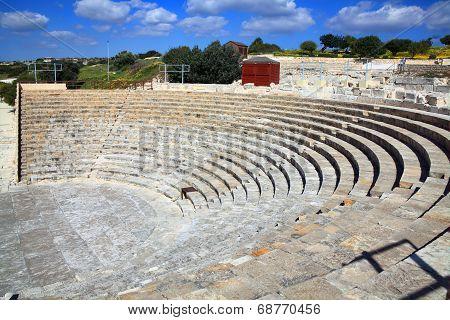 Roman amphitheatre at Kourion, Cyprus