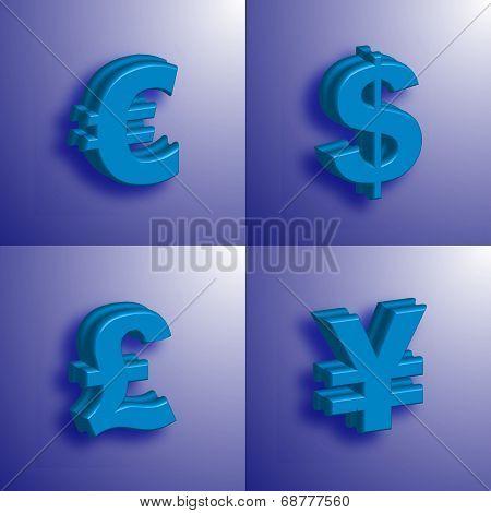 Money Symbol 3D