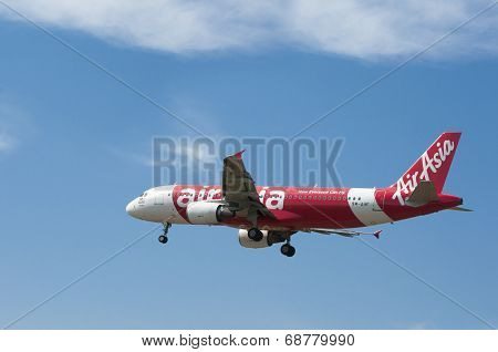 Airbus A320 216  Ready For Landing