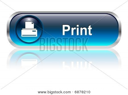 Print icon, button