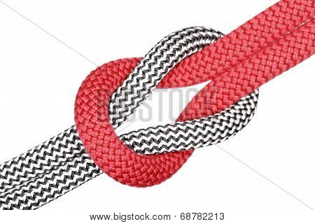 Red And White Knot