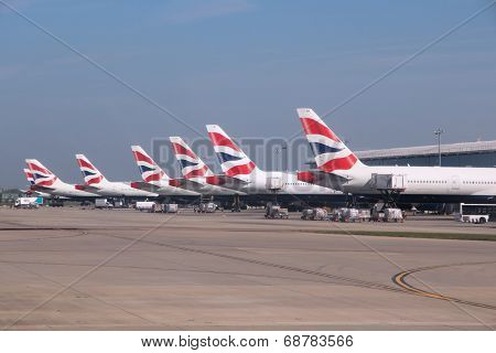 British Airways Boeing 777S