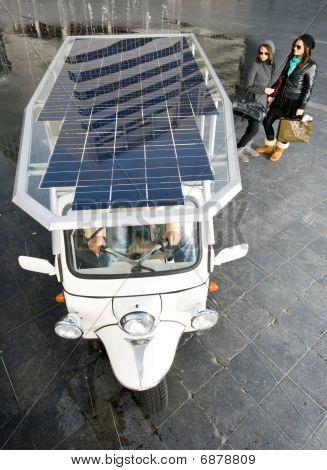 Solar Powered Tuc Tuc