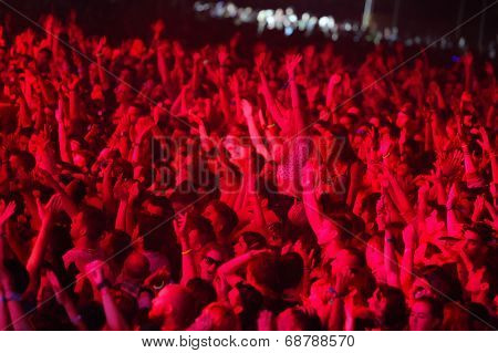 Exit Festival crowd enjoying concert