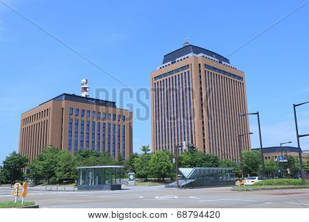 Ishikawa prefectural government office Japan