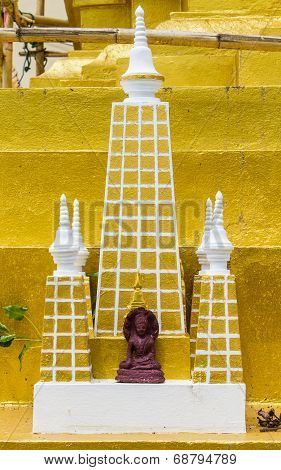 Mahabodhi Pagoda Model