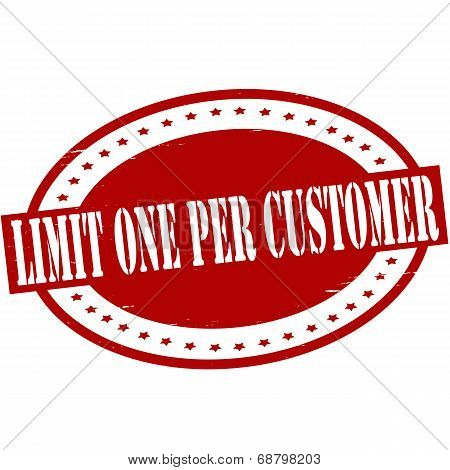 Limit One Per Customer