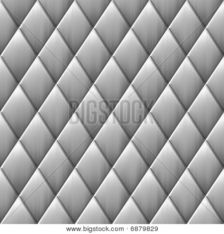 Brushed Metal Diamond Squares