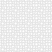 pic of puzzle  - white Puzzle Pattern Background  - JPG