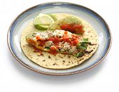 stock photo of tacos  - chile relleno tacos - JPG