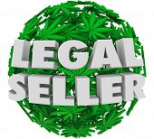 foto of marijuana leaf  - Legal Seller marijuana or pot leaves authorized - JPG