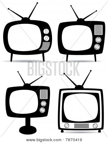 retro tv sets