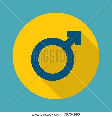 male symbol.
