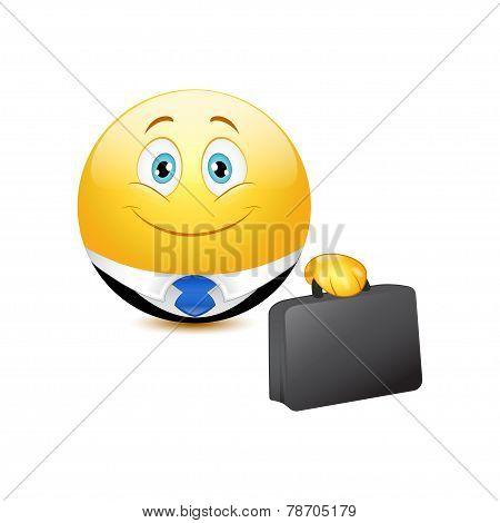 Business emoticon