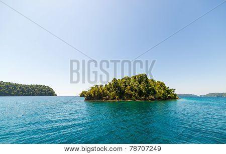 Desert Island In The Togian Archipelago