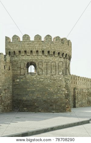 fortress wall around the old city