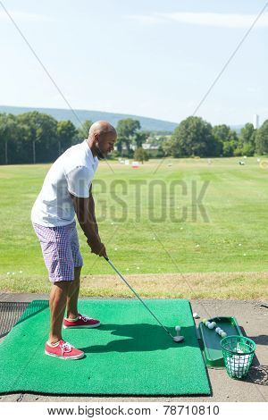 Driving Range Tee Off