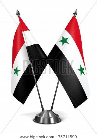 Syria - Miniature Flags.