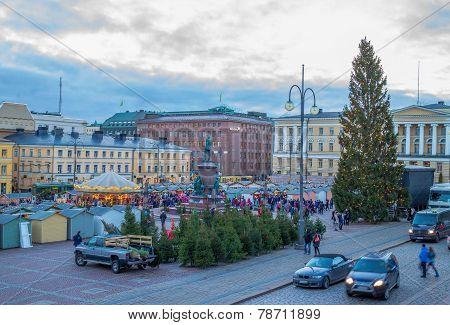 Christmas market Helsinki, Finland