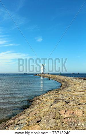 Baltic Sea In Swinoujscie