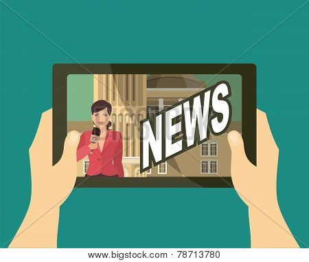 Watch The News Your Tablet