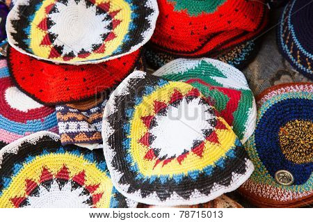 Traditional Jewish Yarmulkes