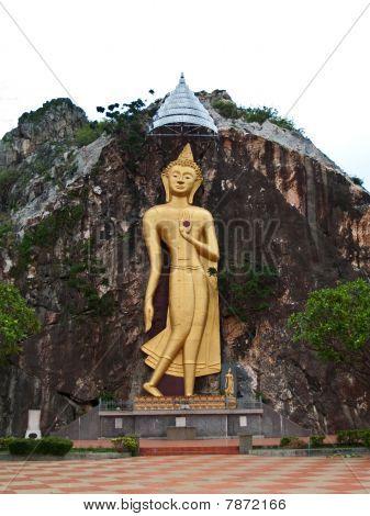 Bas-relief Buddha Image