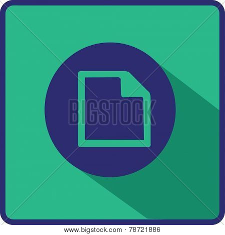 Vector Flat Note Icon