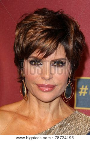 LOS ANGELES - MAR 1:  Lisa Rinna at the QVC 5th Annual Red Carpet Style Event at the Four Seasons Hotel on March 1, 2014 in Beverly Hills, CA