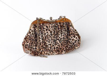 Glamorous Handbag With Chain