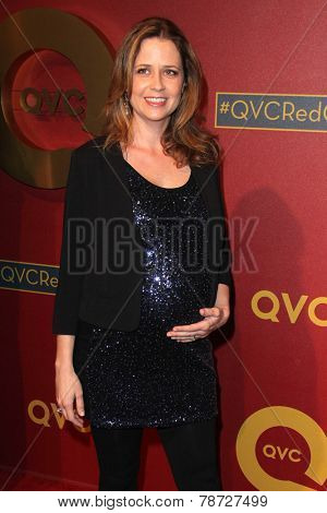 LOS ANGELES - MAR 1:  Jenna Fischer at the QVC 5th Annual Red Carpet Style Event at the Four Seasons Hotel on March 1, 2014 in Beverly Hills, CA
