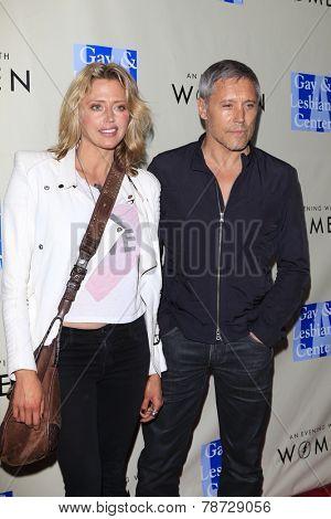LOS ANGELES - MAR 3:  Estella Warren, Max Ryan at the