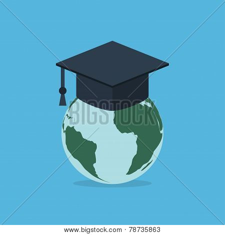 Earth In Hat