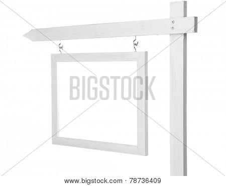 Decorative frame isolated on white background