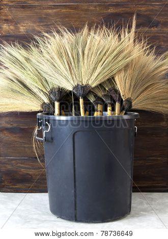 Broom Of Natural Grass