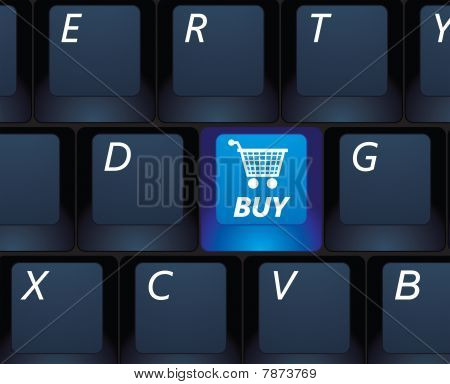Vector Internet Shopping