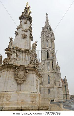 Trinity Statue - Budapest, Hungary