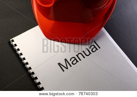 Manual With Red Helmet