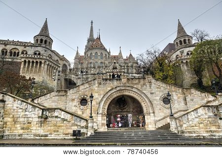Matthias Church, Buda Castle - Budapest, Hungary