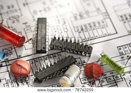 Engineering Drawing With Details