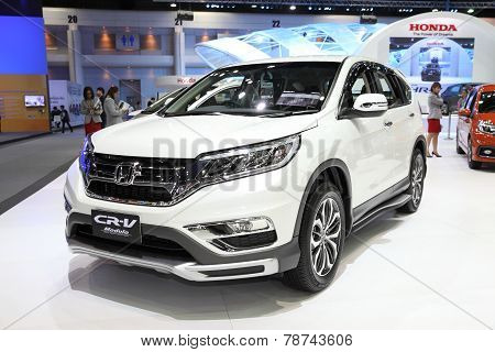 Bangkok - November 28: Honda Cr-v Modulo Car On Display At The Motor Expo 2014 On November 28, 2014