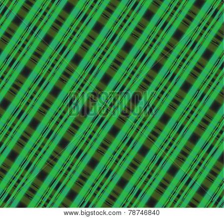 Green seamless tartan patterns