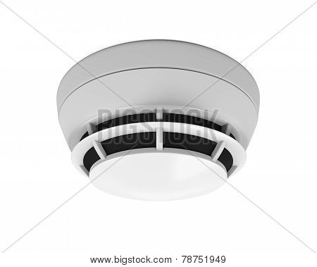 Smoke Detector Isolated
