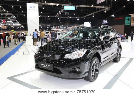 Bangkok - November 28: Subaru Xv Sports Car On Display At The Motor Expo 2014 On November 28, 2014 I