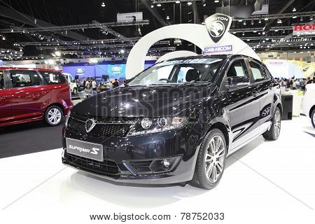 Bangkok - November 28: Proton Suprima S Car On Display At The Motor Expo 2014 On November 28, 2014 I